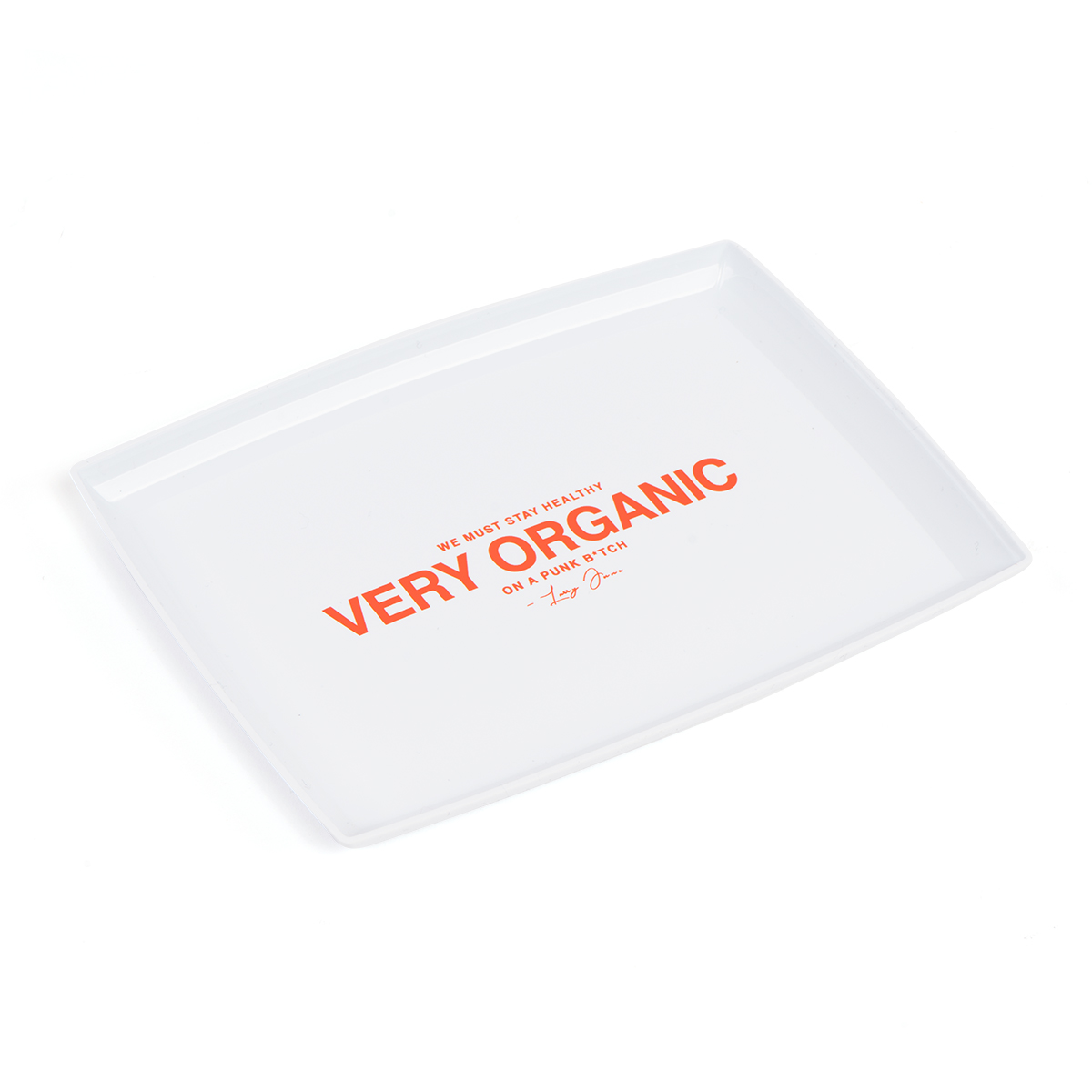 Very Organic Rolling Tray [White]