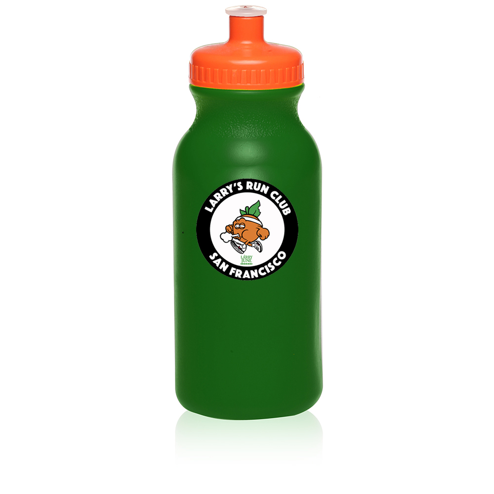Larry's Run Club Water Bottle