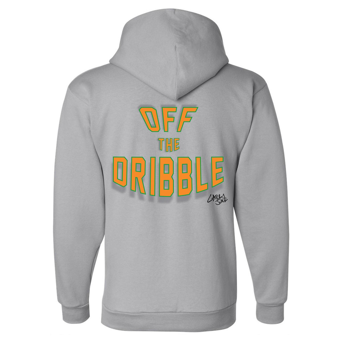 Off The Dribble Hoodie [Gray]