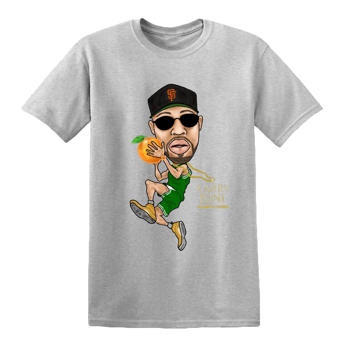 Basketball T-Shirt [Gray]
