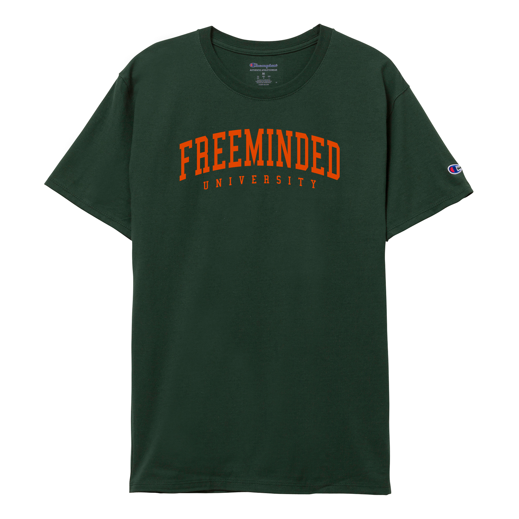 Freeminded University Tee [Dark Green]