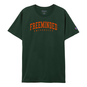 Freeminded University Tee [Dark Green]