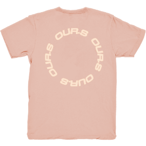 OUR.S T-Shirt [Peach]
