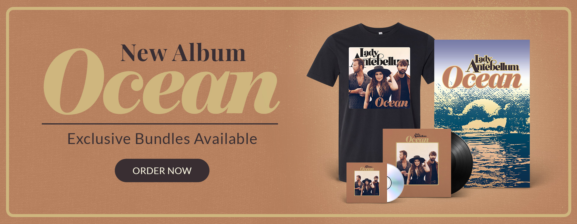 Lady Antebellum New Album Ocean Out Now