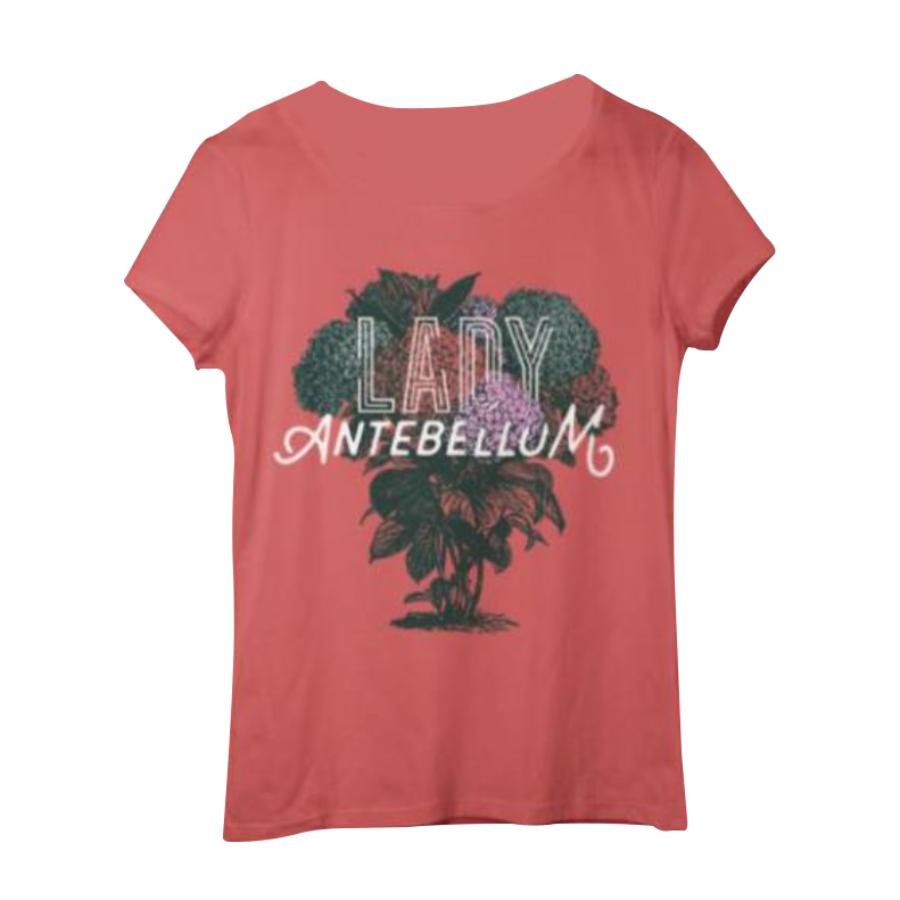 Lady Antebellum Ladies Coral Tee
