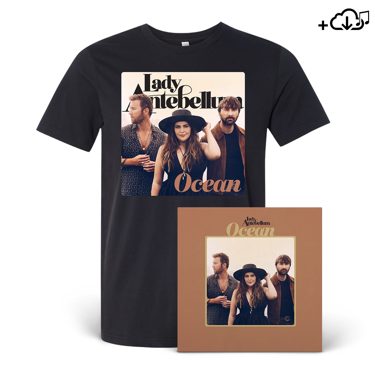 Lady Antebellum - Ocean Digital Download Bundle