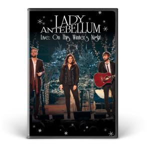 Lady Antebellum On this Winter's Night DVD