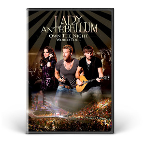 Lady Antebellum We Own the Night World Tour DVD