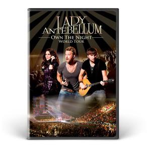 Lady Antebellum We Own the Night World Tour DVD