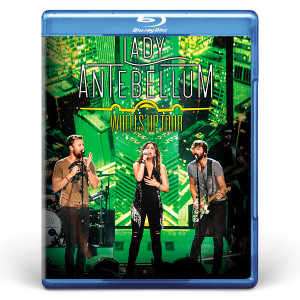 Lady Antebellum Wheels Up Tour DVD or Blu-Ray