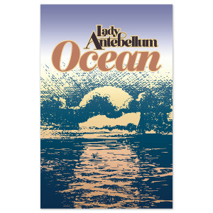 Lady Antebellum - Signed Ocean Poster