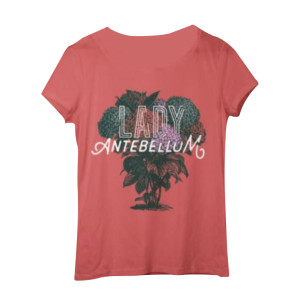 Lady Antebellum Ladies Coral Tee