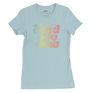 Lady Antebellum Girls Need You Now Blue T-shirt