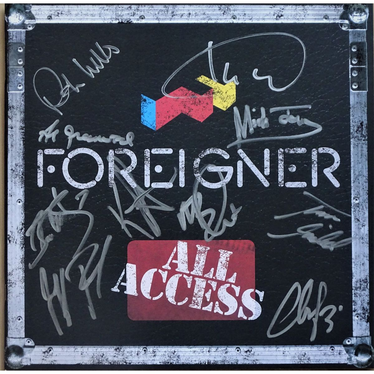 Foreigner 2019 Tour Program
