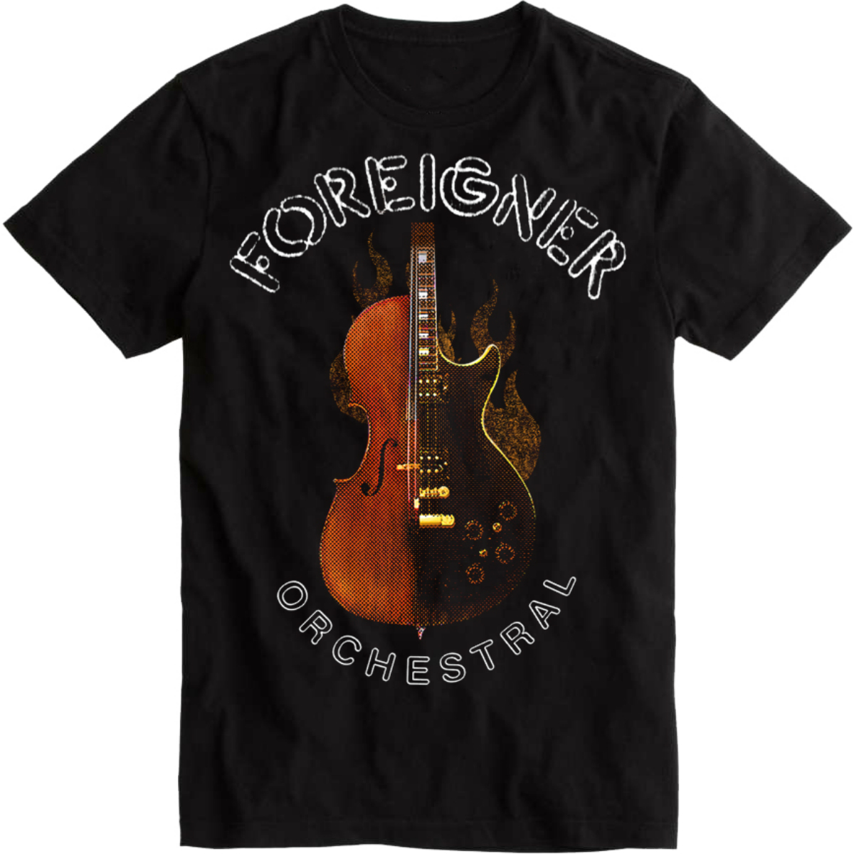 Orchestral Black Tee