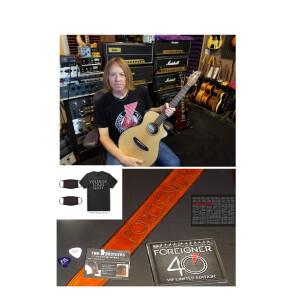 Jeff Pilson's Breedlove Guitar Set