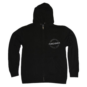 Foreigner Classic Full-Zip Hoodie