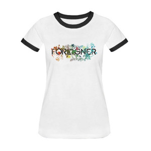 Foreigner Flower Ladies T-Shirt