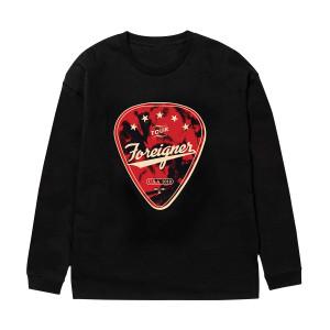 Foreigner Guitar Pick Ls T-shirt