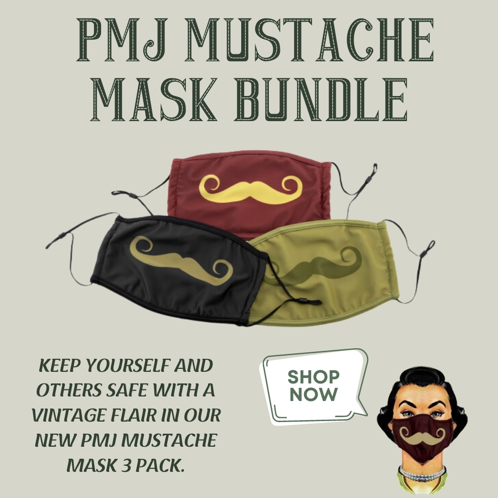 PMJ Mustache Mask Bundle