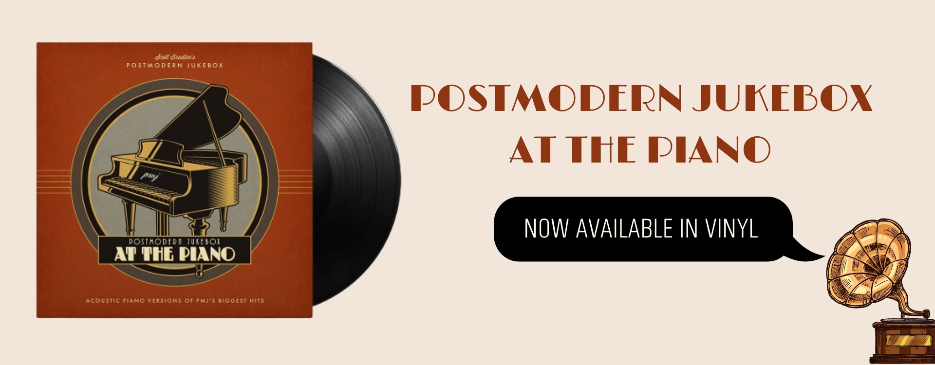PMJ At The Piano Now Available In Vinyl