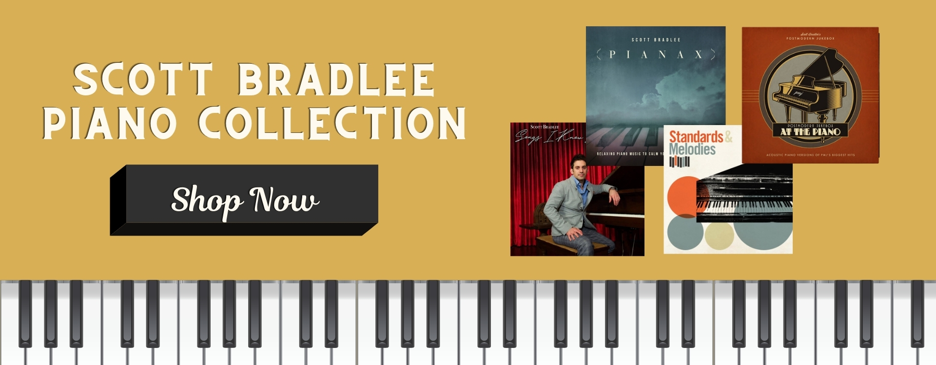Scott Bradlee Piano Collection