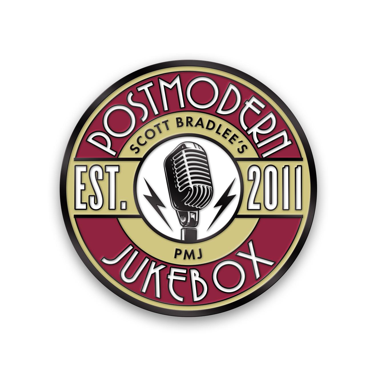 Postmodern Microphone Pin Enamel