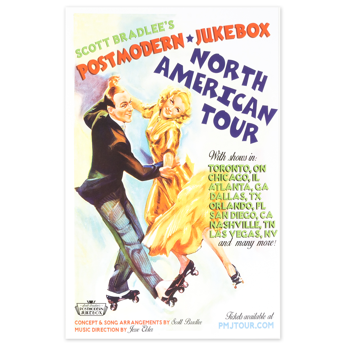 PMJ North American Tour Poster