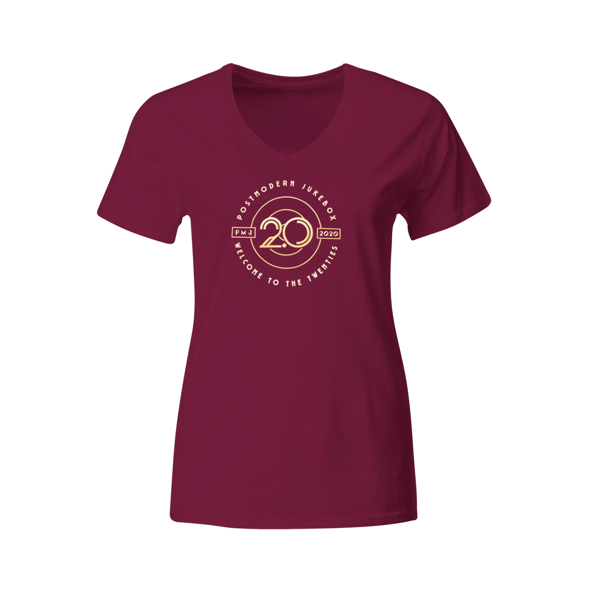 Welcome To The Twenties Women's V-Neck T-Shirt