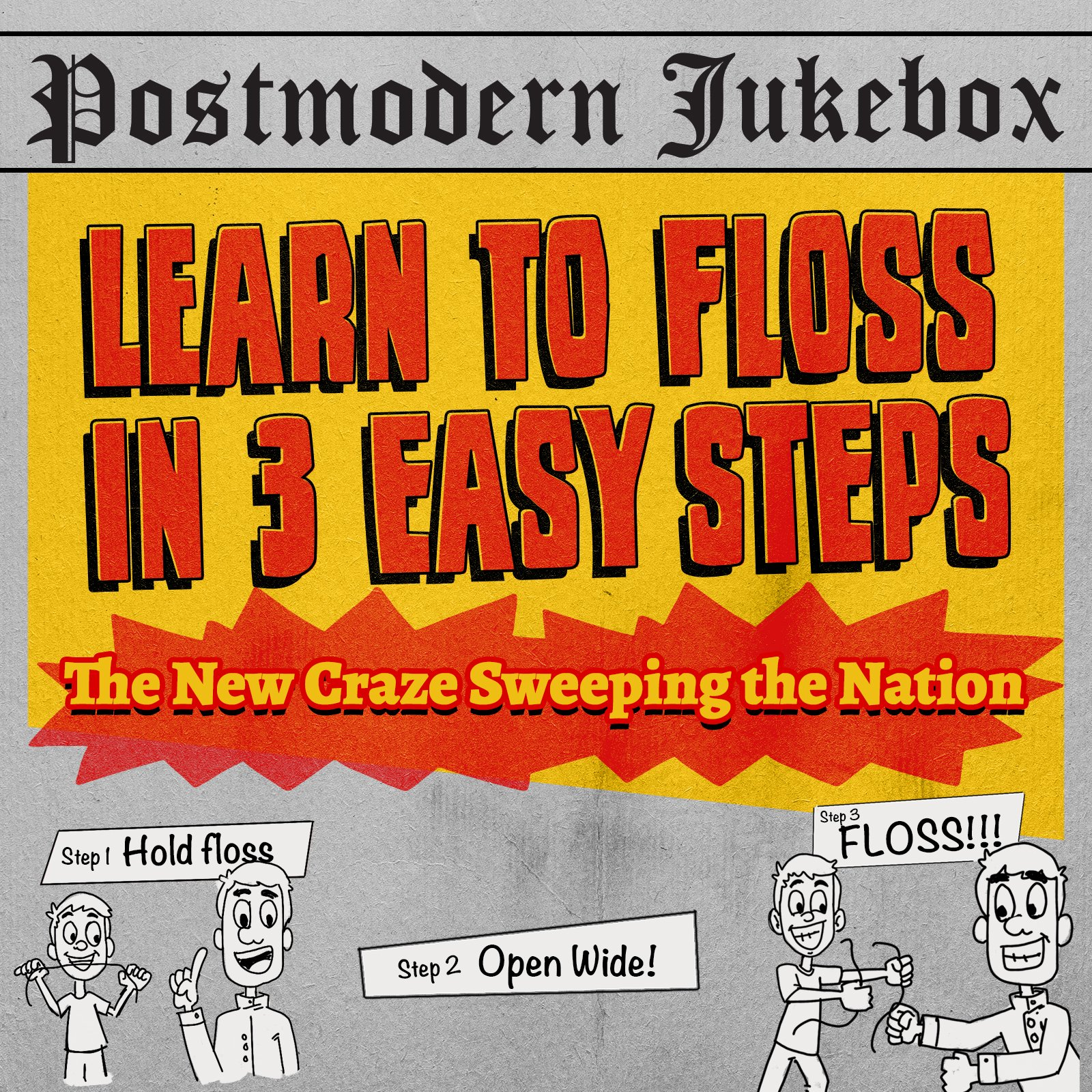 Learn to Floss in 3 Easy Steps [Download]