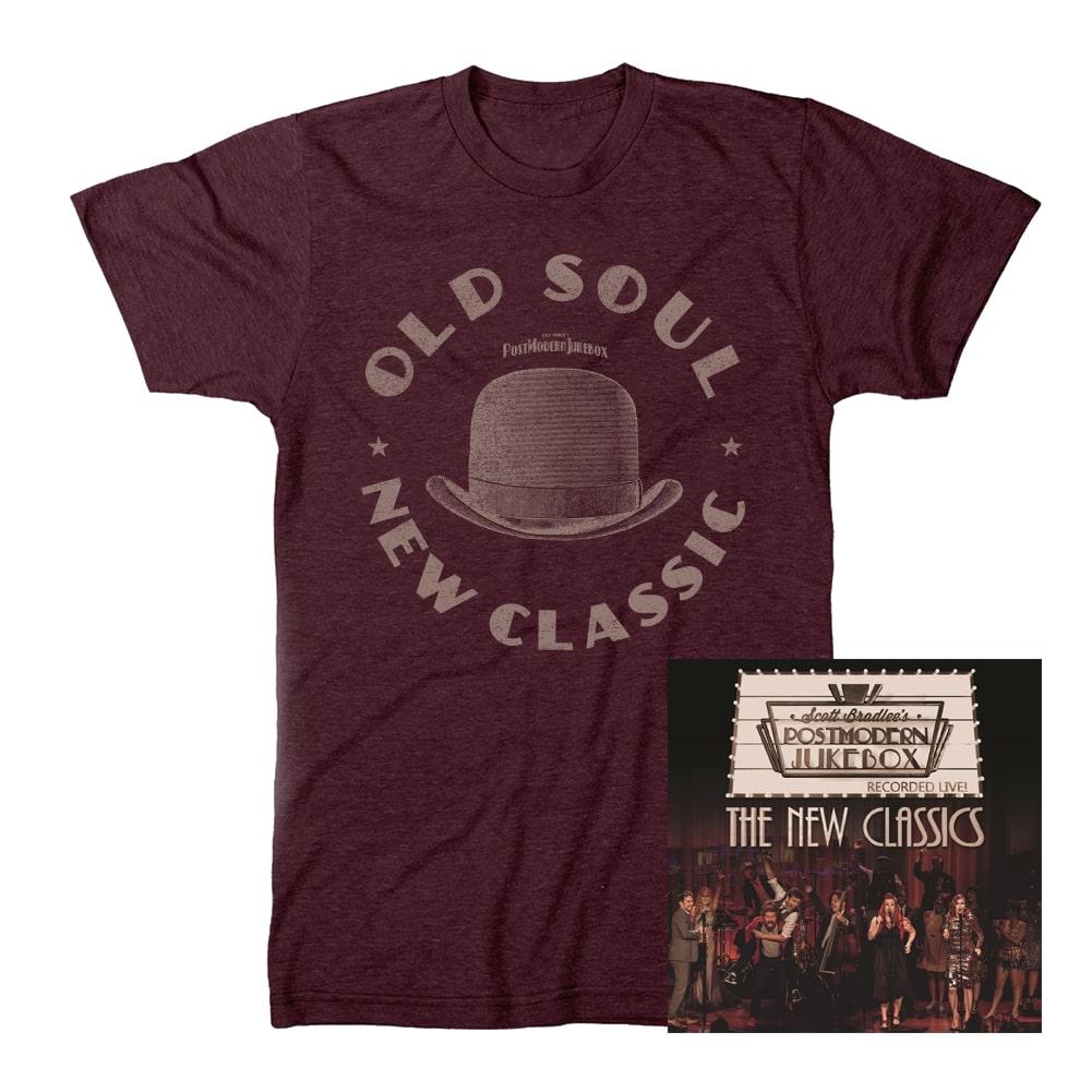 Old Soul T-Shirt + New Classics CD