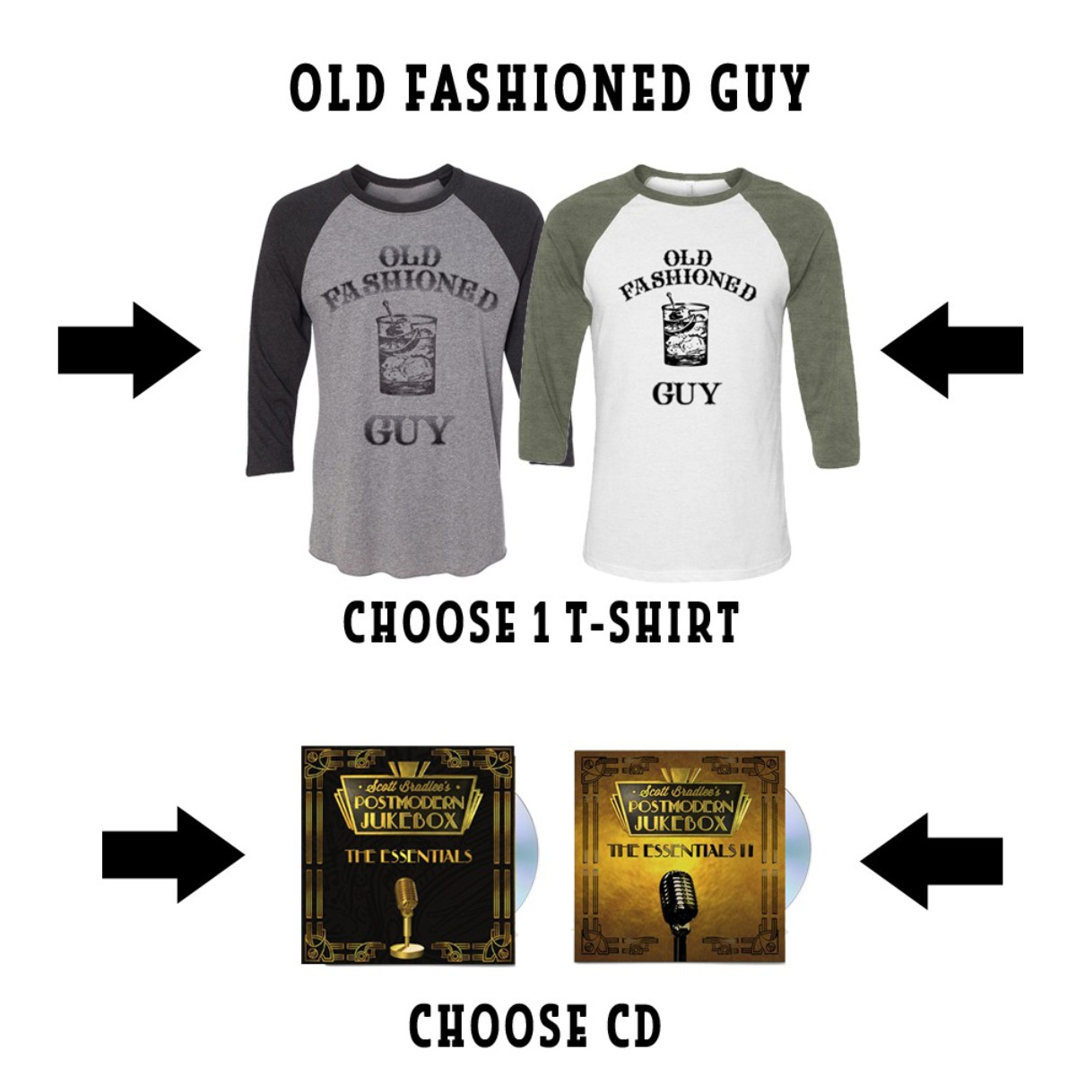 Old Fashioned Guy + Essentials Bundle