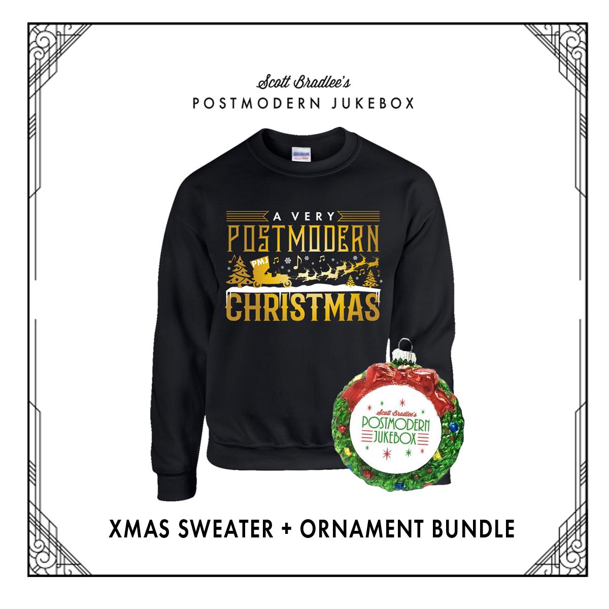Xmas Sweater & Ornament Bundle