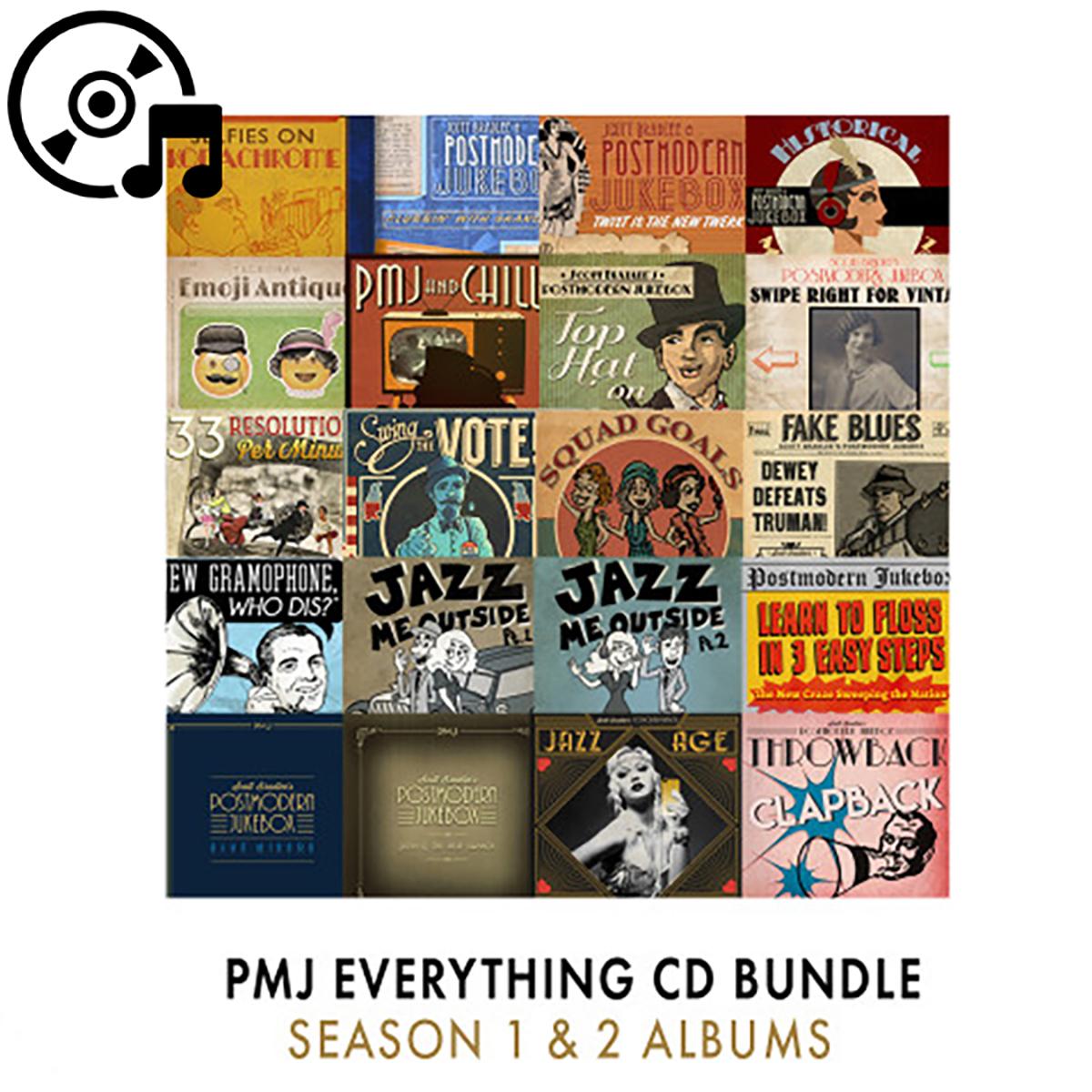 PMJ Everything CD bundle