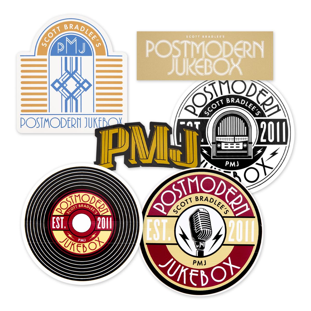 PMJ Sticker Set