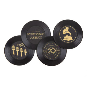 PMJ Vinyl Coaster Set