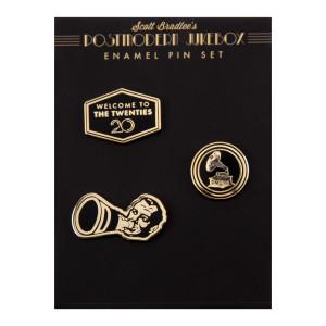 The Twenties Pin Set
