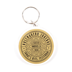 The Twenties Keychain