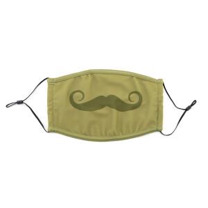 PMJ Mustache Mask (Olive)