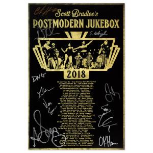 PMJ January - April 2018 Tour Poster (Autographed)