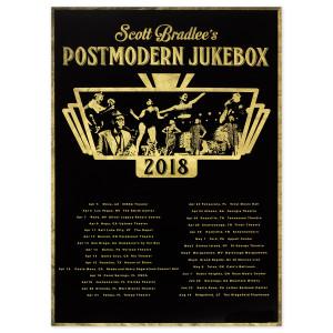 PMJ April - August 2018 Tour Poster