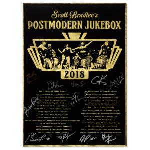 PMJ April - August 2018 Tour Poster (Autographed)