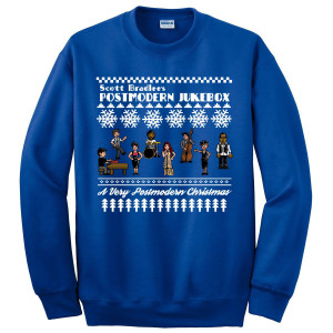 A Very Postmodern Ugly Christmas Sweatshirt