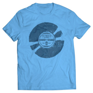 Blue Record T-Shirt