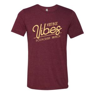 Vintage Vibes T-Shirt - Maroon