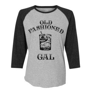 Old Fashioned Gal Baseball Tee
