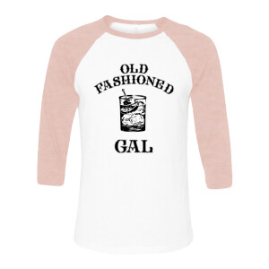 Old Fashioned Gal Pink Raglan