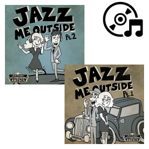 Jazz Me Outside CD Bundle