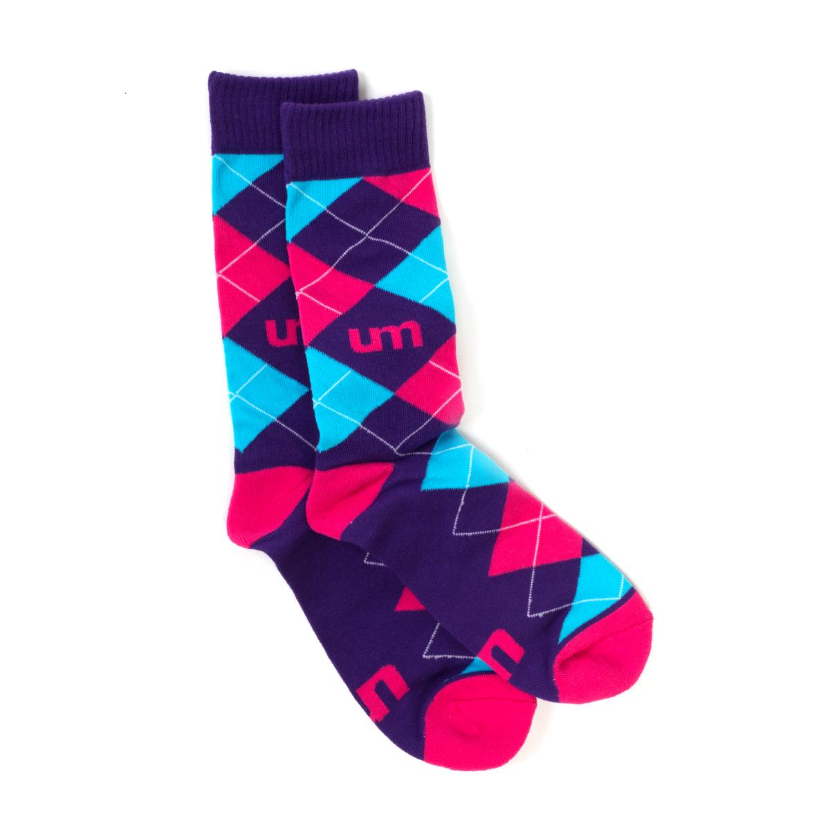 UM Christmas Socks