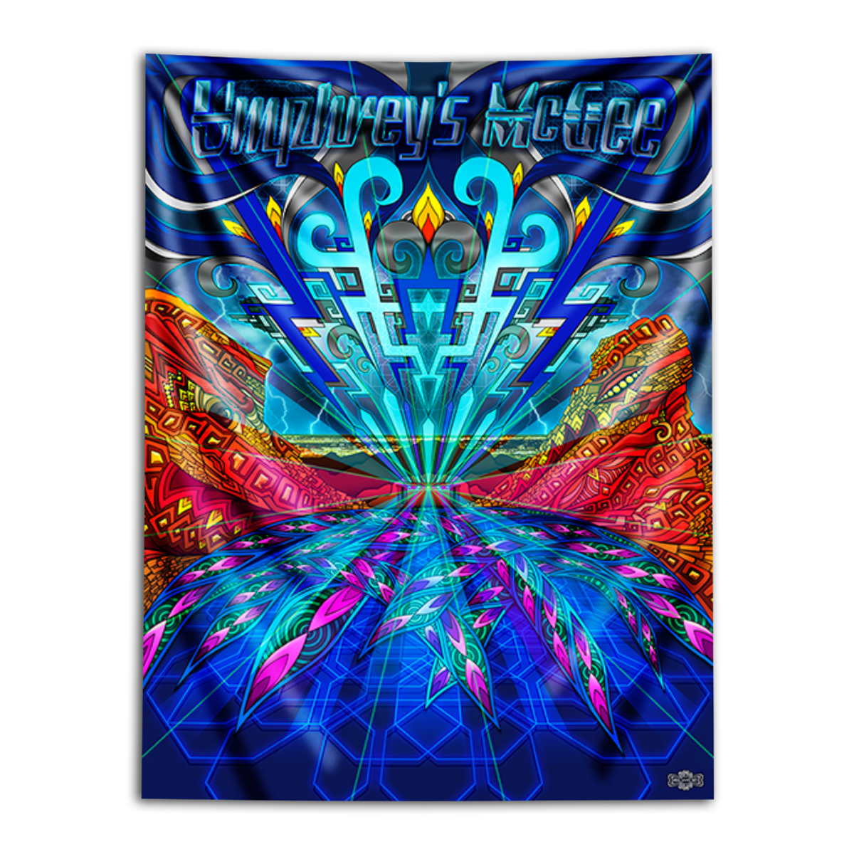 Phil Lewis Third Eye Tapestry